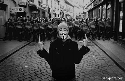 Elfogták az Anonymous-csoport egyik tagját Budapesten