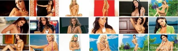 Pucér magyar modellek  a Playboy magazinban
